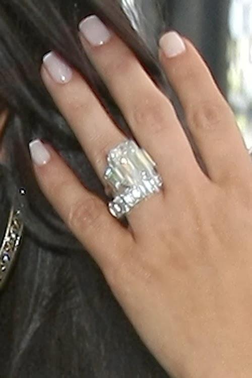 best jewelry kim kardashian�s 20carat engagement ring