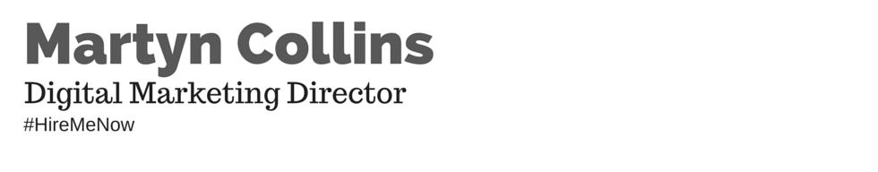 Martyn Collins Digital and Social Media Marketing Services