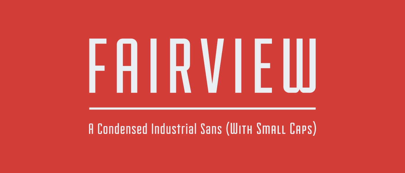 Free Font of the Day: Fairview