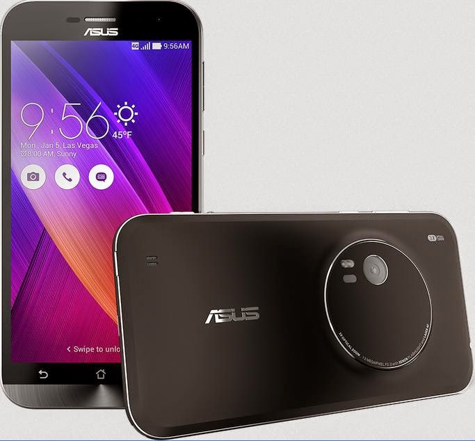 ASUS Unveiled ZenFone Zoom, World's Thinnest 3x Optical Zoom Smartphone