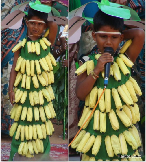 fancy dress banana plantain