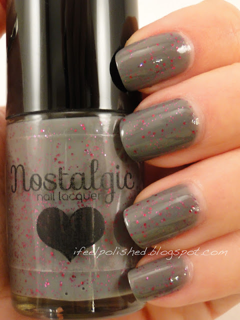 Nostalgic Nail Lacquer Date at Midnight with Nosferatu
