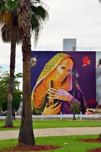 Street Art By Chilean Artist INTI For Los Muros Hablan '13 In San Juan, Puerto Rico. 3