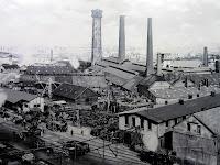 Industriefotografie, Werksaufnahmen, schwarz-weiß Fotografie