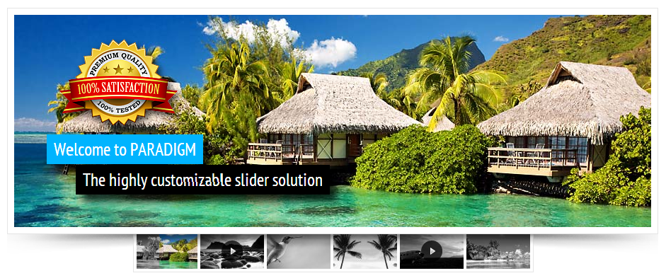 Paradigm Slider WordPress Plugin