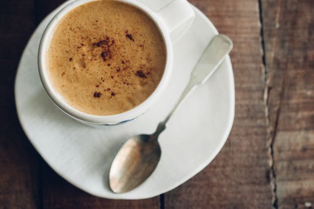 Spiced Pumpkin Tea Latte (AIP, Paleo, Low FODMAP, Vegan)