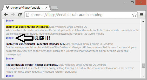Enable Mute Button in Chrome and Handle Noisy Tabs