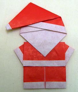Kerajinan Kertas Sinterklas
