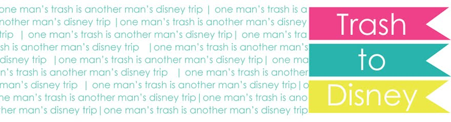 One Man's Trash Is Another Man's Disney Trip!