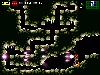 Now the wave beam looks more like in Super Metroid