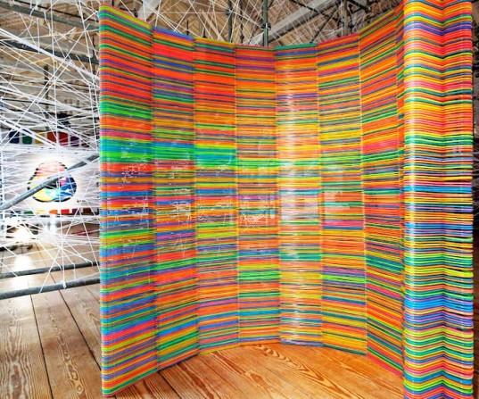 The Wall of 2000 IKEA Hangers