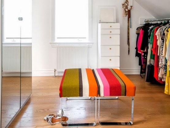 desain interior ruang wardrobe