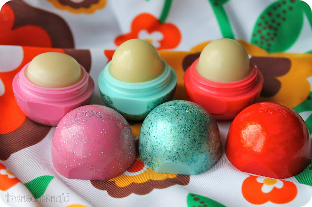 White Eos Lip Balm Flavor These lip balms also come in a