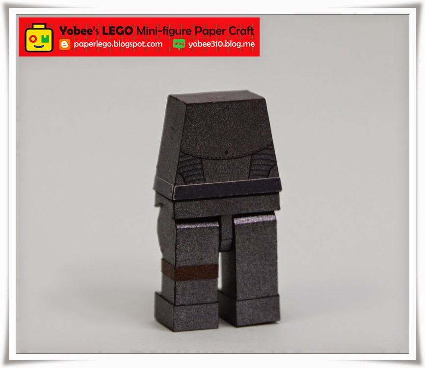 Lego Hawkeye Papercraft