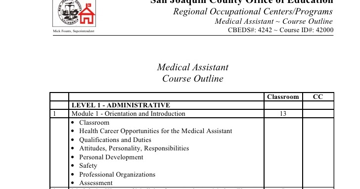 Medical Assistant - Medical Assistant Training Course