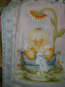 saída de banho bebe
