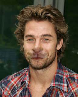Scott Speedman as a rabbit animorph.