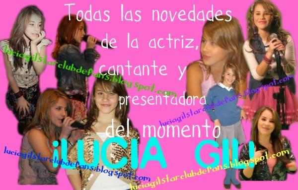 Club de fans Lucia Gil