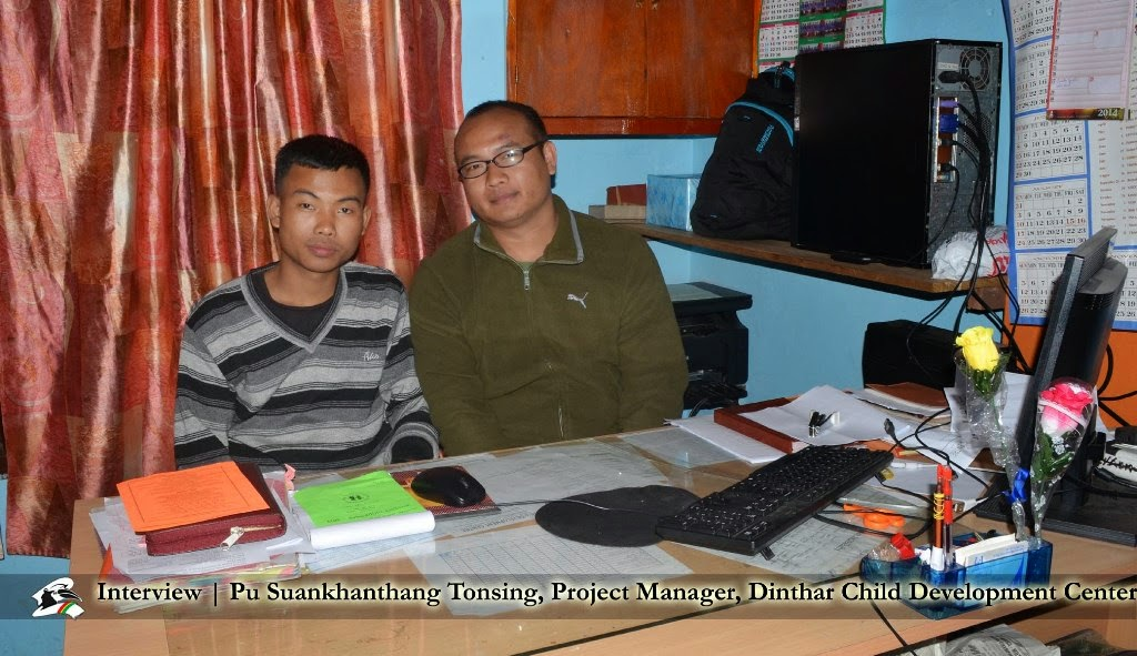 Interview | Pu Suankhanthang Tonsing, Project Manager, Dinthar Child Development Center