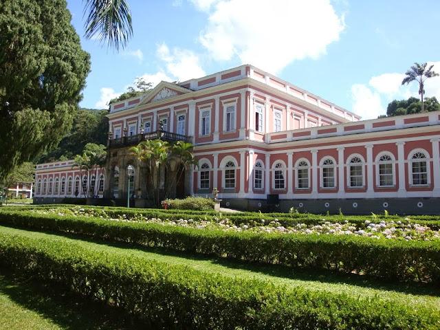 Palacio Imperial en Petrópolis, Brasil