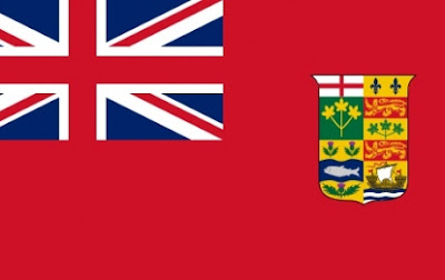 Canadian flag 1828-1921