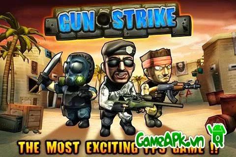 Gun Strike v1.4.6 hack full tiền xu và mở khóa cho Android