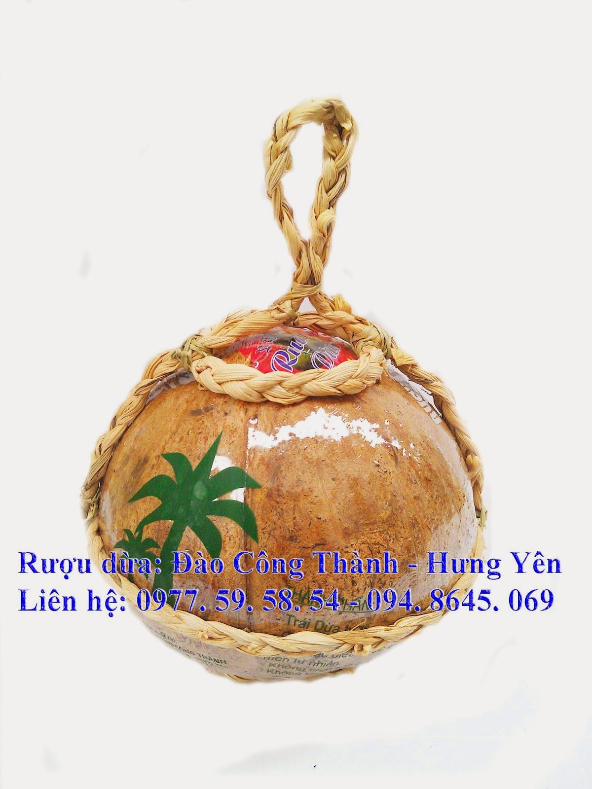 Rượu dừa Đào Công Thành Hưng Yên