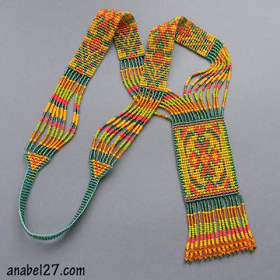купить гердан гайтан этническое украшение ручной работы украина