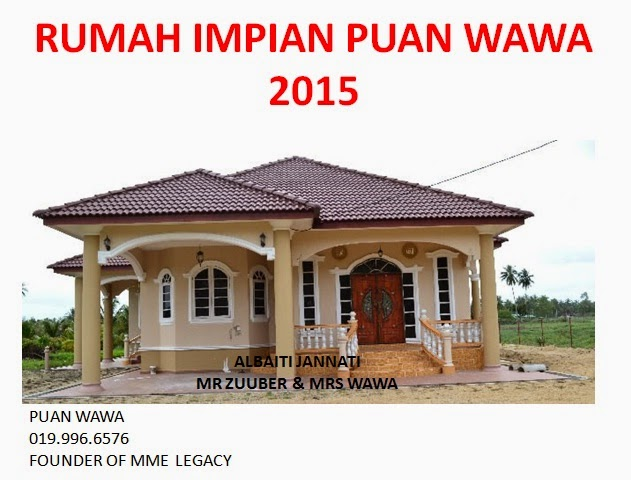 Rumah Impian Wawa & Suami 2015