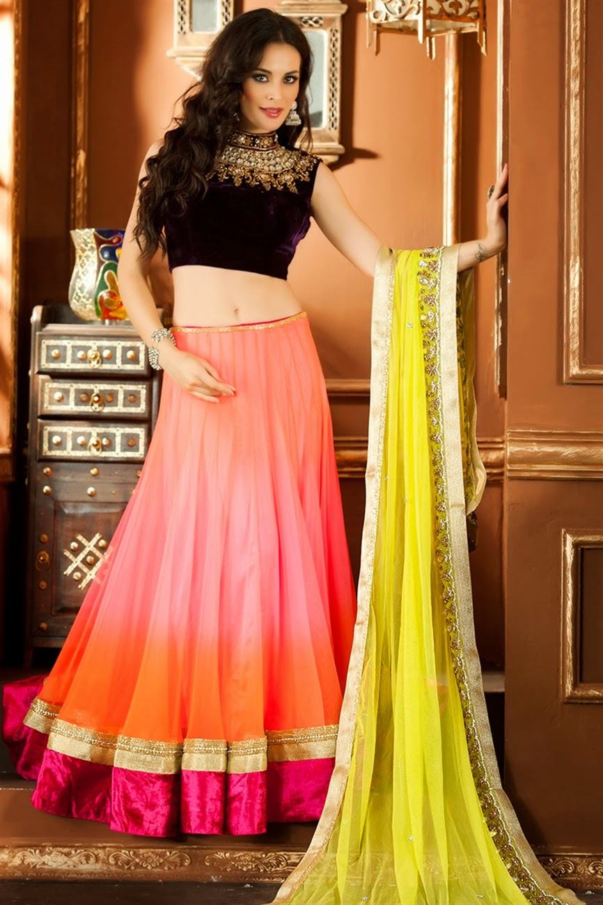 albarino net: Bollywood Designer Bridal Wear Lehenga Choli Sabyasachi Bridal Collection 2013