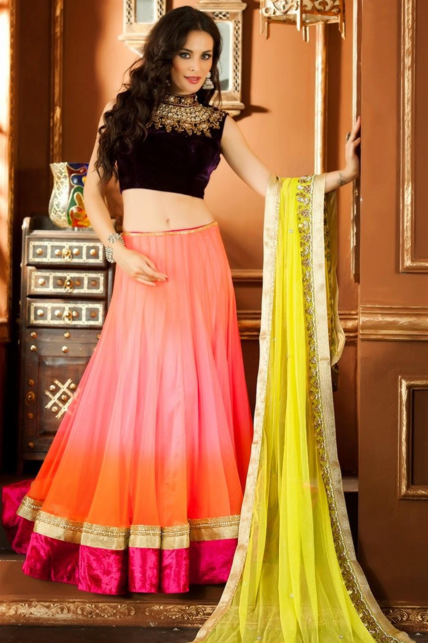 albarino net: Bollywood Designer Bridal Wear Lehenga Choli Sabyasachi Anarkali Suits Collection 2013