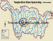 Yangtze Water System Map