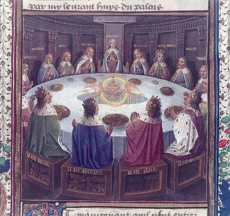 Lettres co robert de boron la suite du roman de merlin - Les chevaliers de la table ronde resume ...