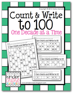 Count and Write to 100 One Decade at a Time