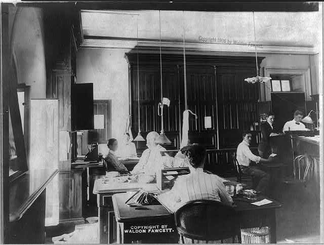 U.S. Secret Service employees at work 1906