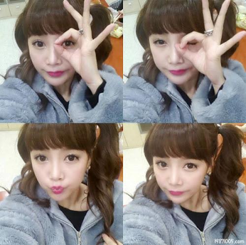T-ara Soyeon Tampil Cute di Selca Terbarunya