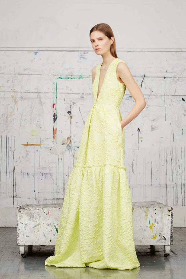 Fashion Runway - Erdem Evening gowns - Best of Resort 2015