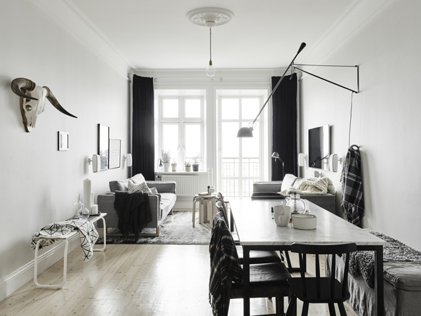 life as a moodboard gorgeous apartment in grey scandinavian style