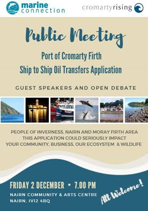 Important meeting for local environment Nairn FRIDAY Dec 2nd