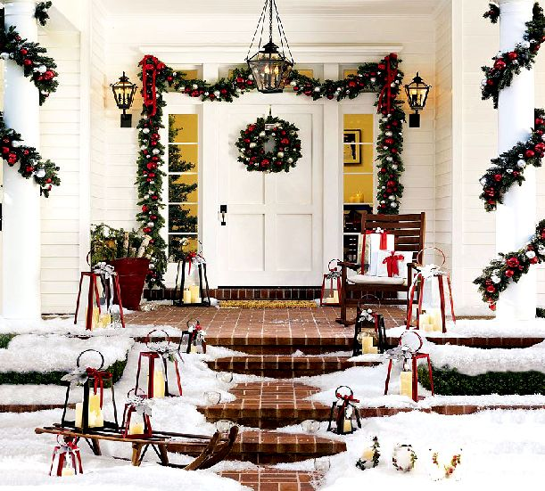 Color Your World: Christmas Decorating Ideas for your Porch