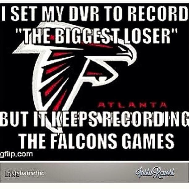 "I set my dvr to record ""the biggest loser"" but it keeps recording the falcons games"