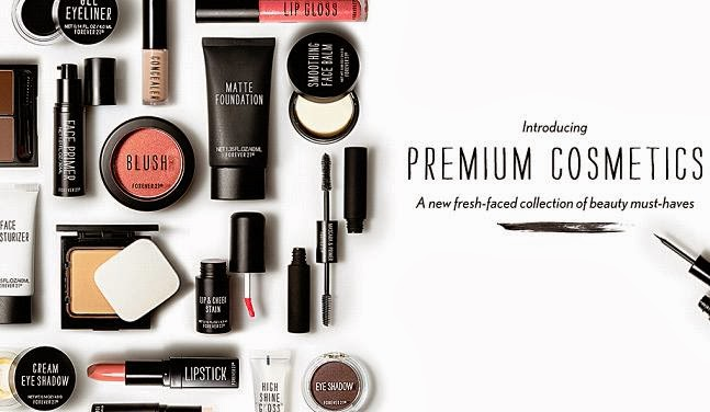 New for 2014: Forever 21 Premium Cosmetics Collection : Nouveau Cheap
