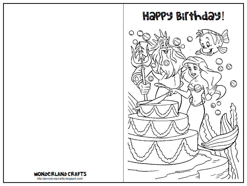 Invaluable image with regard to printable coloring birthday cards