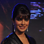 Priyanka Chopra Super Hot Cleavage Show In Black Dress At The Launch Of Her Debut International Music Single In My City