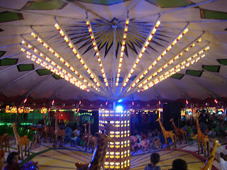 Leiria May Fair beautiful Carousel photo - Portugal