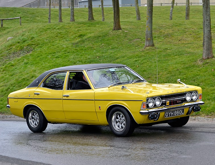 British Ford Cars From the 70s