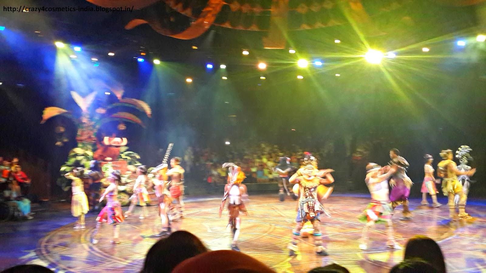 Hongkong Disneyland Lantau Island- Sunny Bay- Lion King Show Disneyland