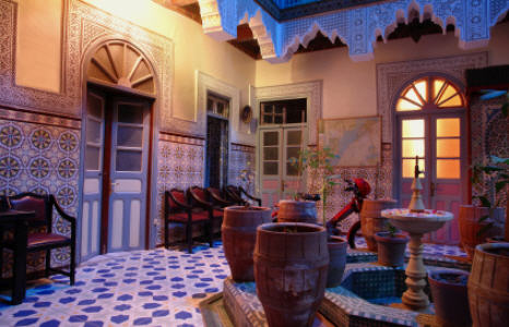 Home decorating ideas moroccan home decor ideas for Moroccan house design