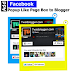Add Facebook Page Popup Like Box to Blogger