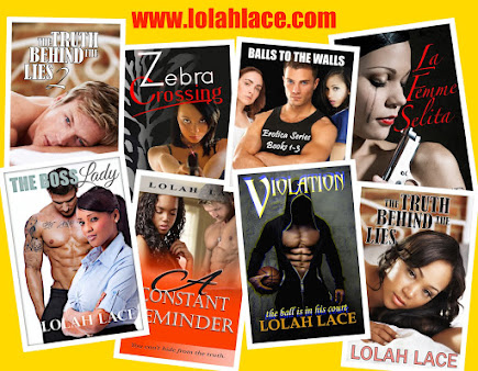LOLAH LACE BOOKS